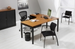 Wingbureau Q-Bic Black 180x120cm links